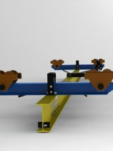Кран ручной подвесной 3,2т - Пролет (4,5 м); Длина (5,7 м)