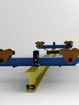 Кран ручной подвесной 3,2т - Пролет (7,5 м); Длина (8,7 м)