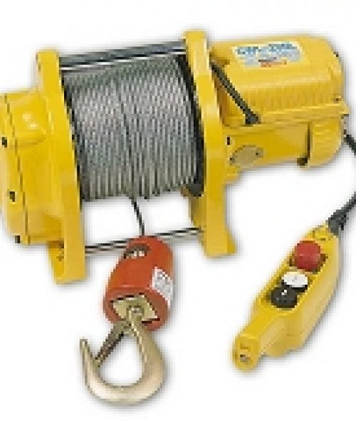 Электрическая компактная лебедка CWL-200L(г/п 200кг, в/п 70м)