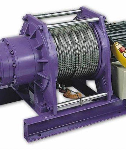 Электрическая лебедка CWG-34000(г/п- 5000кг; в/п-192м)