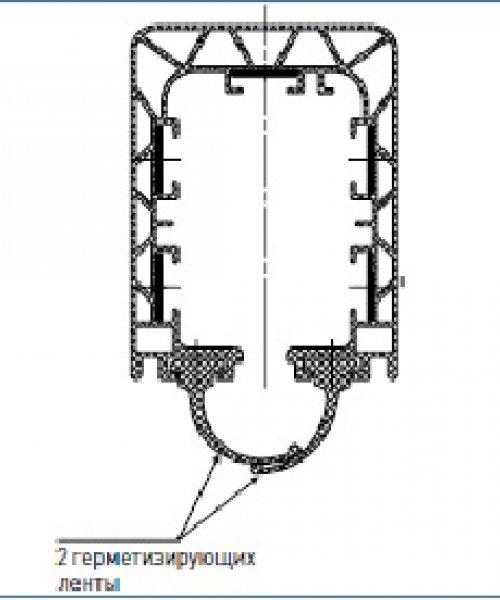 Герметизирующая лента IP44