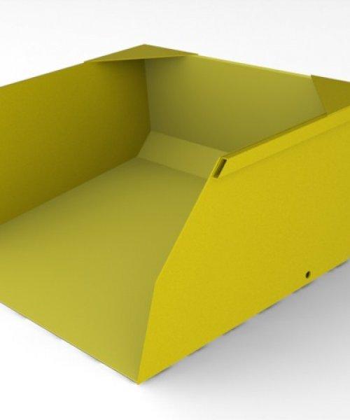 Ковш для вилочного погрузчика 3.2 т для объема 0.75 м^3