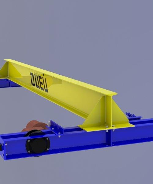 Кран мостовой электрический однобалочный опорный - Грузоподъемность (8 т)
