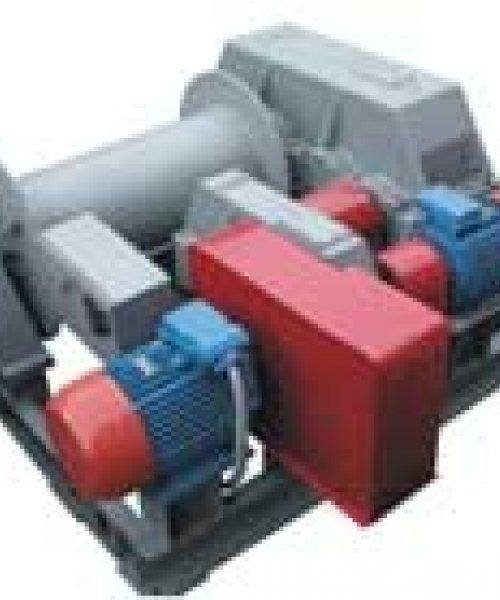 Лебедка тяговая электрическая ТЭЛ-10Д